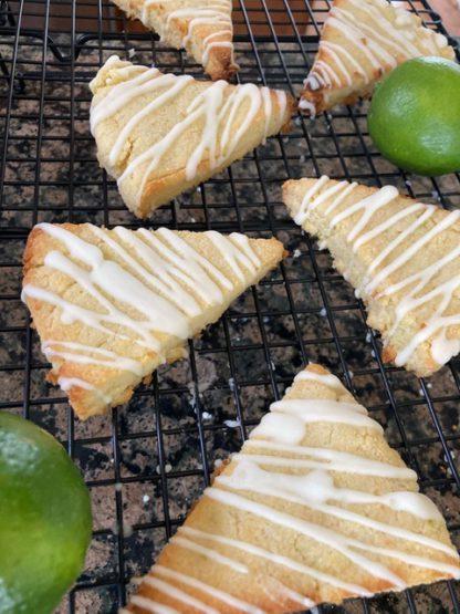 Key Lime Scones