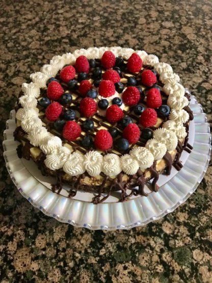 "8"" Brownie Cheesecake"